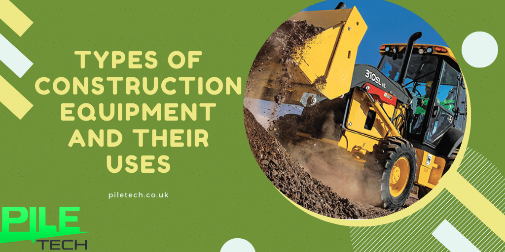 types of contruction equipments